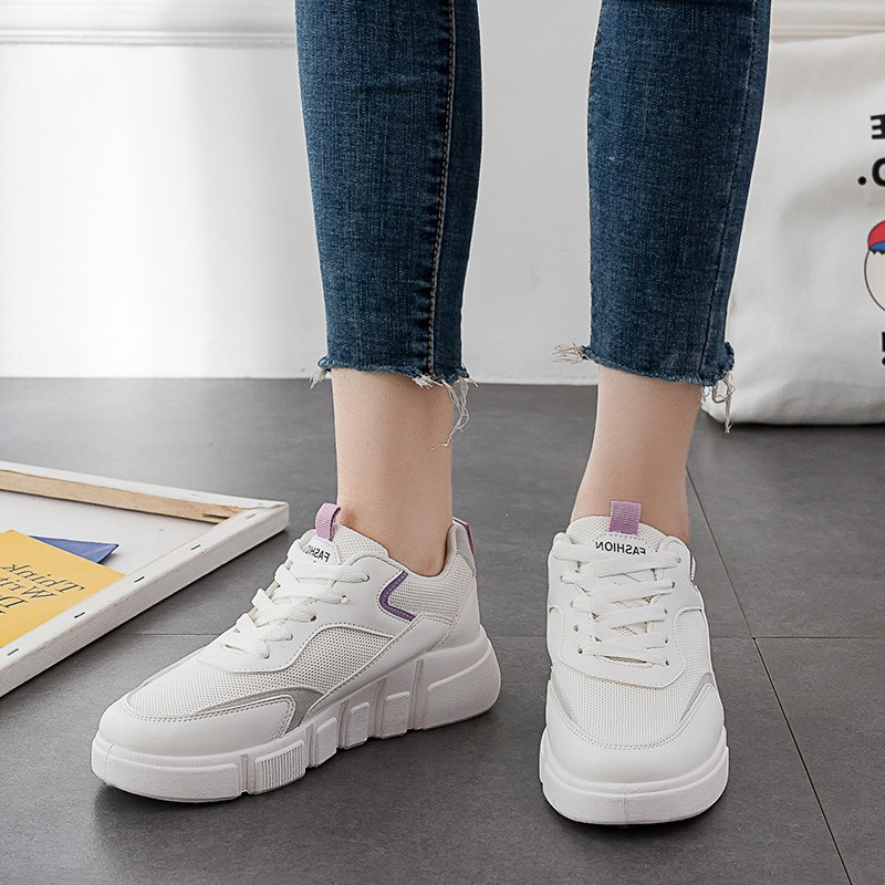 Hot Sale Woman Casual Shoes Breathable Sneakers Women New Arrivals Fashion Mesh Sneakers Shoes Women Plus Size 36 40 D0051 in Women 39 s Vulcanize Shoes from Shoes