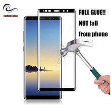 FULL GLUE For Samsung galaxy s10 E Note 10 9 8 S6 S7 Edge S8 S9 Plus Cover Tempered Glass S