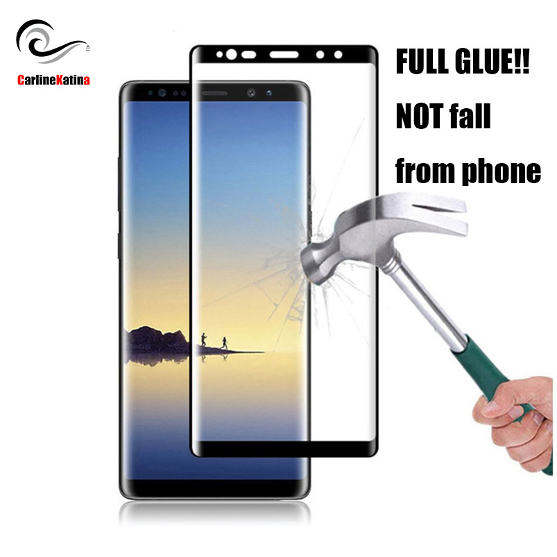 FULL GLUE For Samsung galaxy s10 E Note 10 9 8 S6 S7 Edge S8 S9 Plus Cover Tempered Glass Screen Protector Film 3D 5D 9D Case image