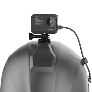 Image 5 - מגן מסגרת קסדת קבוע מסגרת מחזיק הר עבור מקורי SJCAM SJ9 Max Strike Sj4000X פעולה מצלמה אבזרים