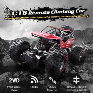 Image 2 - Radio Gesteuert Auto Panel Klettern Off Road Fernbedienung Auto RC Buggy 2,4 GHz Klettern Auto Bigfoot Auto modell Geländewagen
