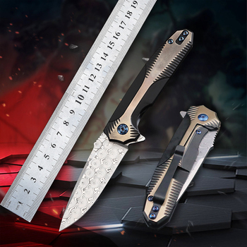 TIGEND  Hunting straight knife tactical knife fixed knife survival knife camping rescue knife tool folding knife Damascus Knife 1piece damascus steel knife blanks gift collection straight knife tea knife blanks tea tools needle
