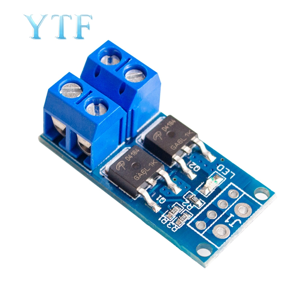 High Power MOS Field Effect Tube Trigger Switch Driver Module PWM Regulating Electronic Switch Panel