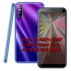 F2 Pro Android 5.1 mobile phones Global 4G RAM 64G ROM quad core smartphone 13mp Face unlocked celulares 3G WCDMA WIFI 2SIM MTK