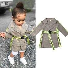 Осенняя детская одежда для маленьких девочек, куртка осенне-зимняя верхняя одежда, ветровка, весеннее пальто с длинными рукавами
