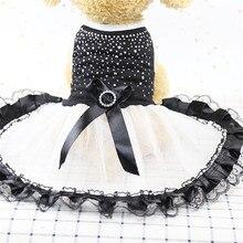 1 pcs Pet XS-L Apparel Clothes Dog Cat Tutu Dress Lace Skirt Cute Princess Party For Supplies