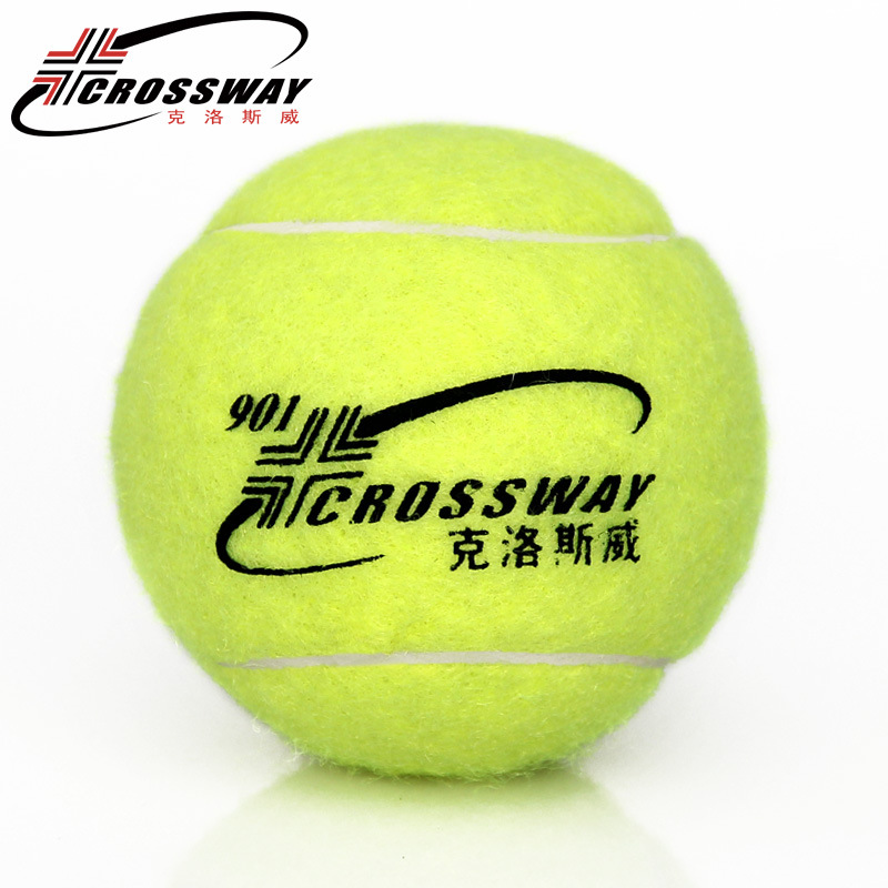 1 Piece Professional Tennis Training Practice Balls Rubber Ball For Beginner