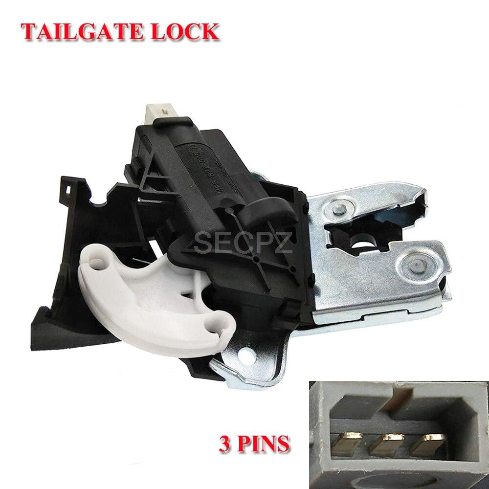 Genuine Factory OEM VW AUDI Rear Trunk Lid Lock Latch NEW
