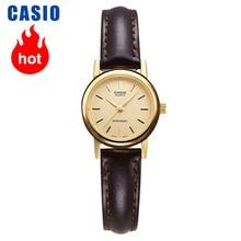 Casio Watch Brown Simple Vintage Quartz Womens Watch LTP 1095Q 9A