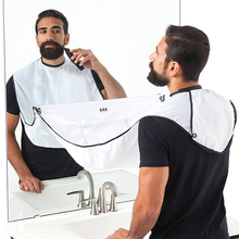 Beard Apron Razor-Holder Cleaning-Protector Hair-Shave Floral-Cloth Bathroom Male Household