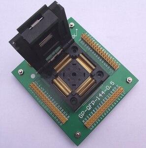 Image 1 - QFP144 prueba bloque de grabación de LQFP144 TQFP144 adaptador de 0,5 MM