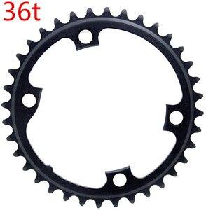 Image 3 - Shimano Ultegra R8000 11Speed Road Bike Bicycle Chainring 50 34T 52 36T 53 39T R8000 110BCD 34T 36T 39T 50T 52T 53T Crown 110BCD