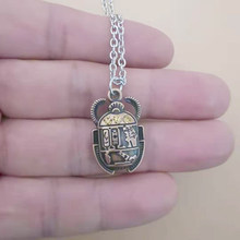 Collier égyptien pour hommes et femmes, pendentif, chaîne, bijoux de déclaration, Vintage, nouvelle tendance