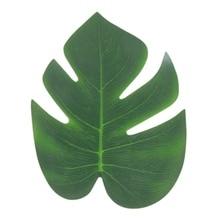 12PCS/Set Simulation Turtle Back Leaf Silk Cloth Tape False Artificial Plant Home Craft Festive Party Decoration