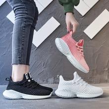 New Designer Sneakers Women Platform Casual Shoes 2019 Fashion Flying Black White Basket Femme