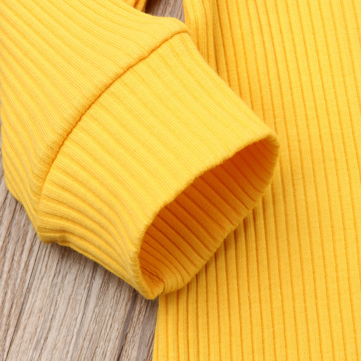 H23c3cb18c0cd476dab6dea17fa79797bX Spring Fall Newborn Baby Girl Boy Clothes Long Sleeve Knitted Romper + Headband Jumpsuit 2PCS Outfit 0-24M