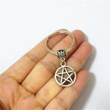 Брелок с пентаграммой пентаграмма Подарки wiccan pagan Готический