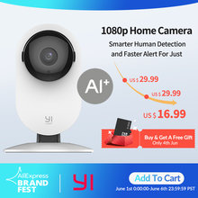 YI Home Camera 1080P IP ในร่มกล้อง FHD Night Vision Motion Detection สำหรับ Home Security(China)