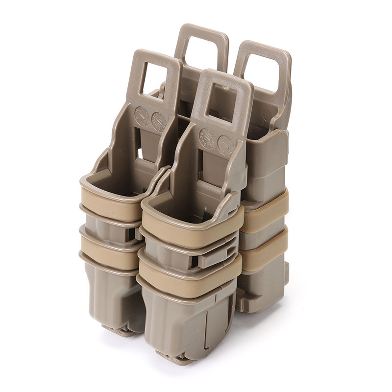 Fast Mag Tactical M4 Cartridge Case (Plastic 3 Pcs) 5.56. 223 Mollo Tactical Vest Accessories Bag