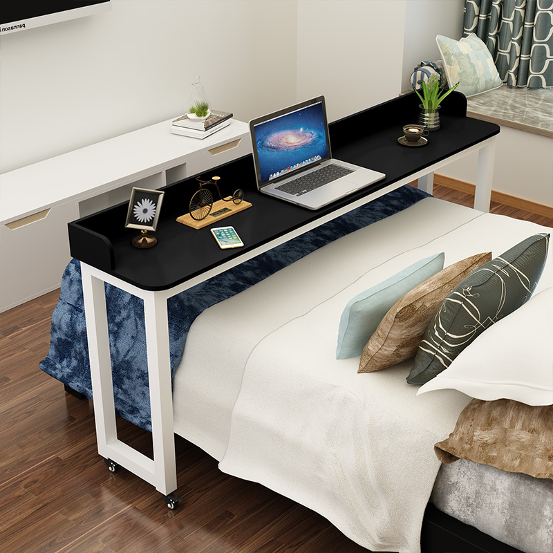 Desk on the bed, laptop desk, computer desk, double bed, movable cross bed table, multi-functional, lazy bedside table