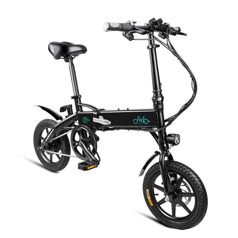 [EU Direct] FIIDO D1 10.4Ah 36V 250W rower elektryczny 14 cali składany motorower rower 25 km/h Max 60KM przebieg rower elektryczny