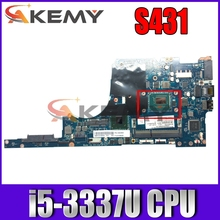 Thinkpad applies FRU 04X1994 to S431 i5-3337U independent computer motherboards