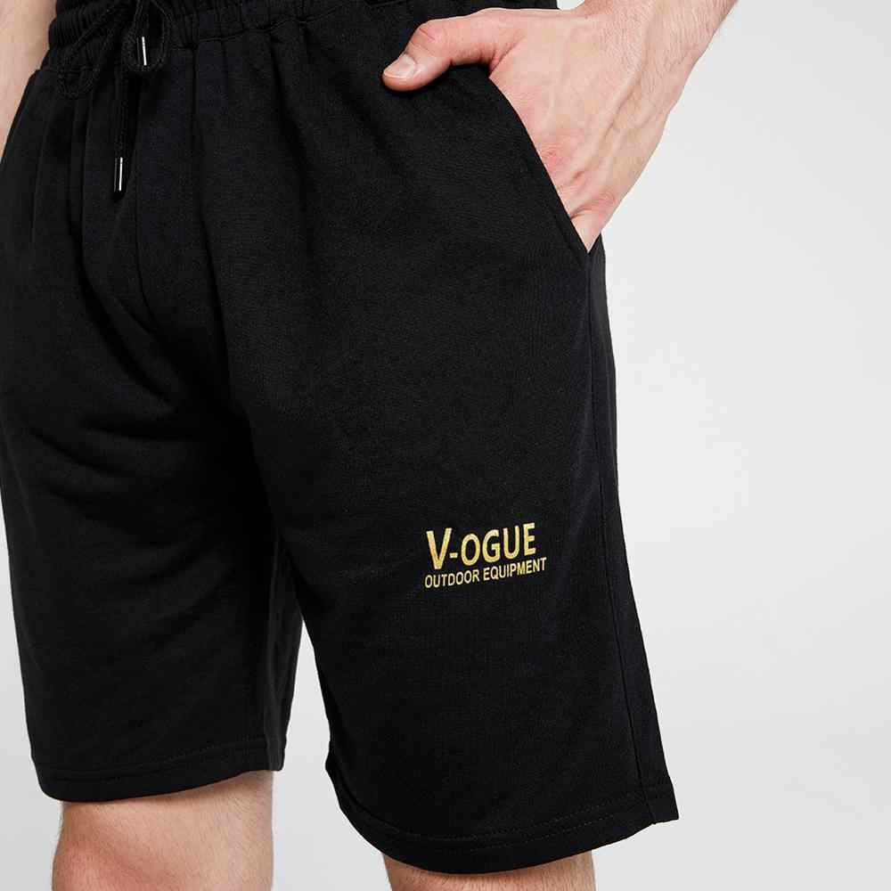 여름 T 셔츠 망 캐주얼 두 조각 정장 짧은 소매 티셔츠 + 반바지 세트 패션 남성 의류 세트 남자 Tshirts Homm Brand Top