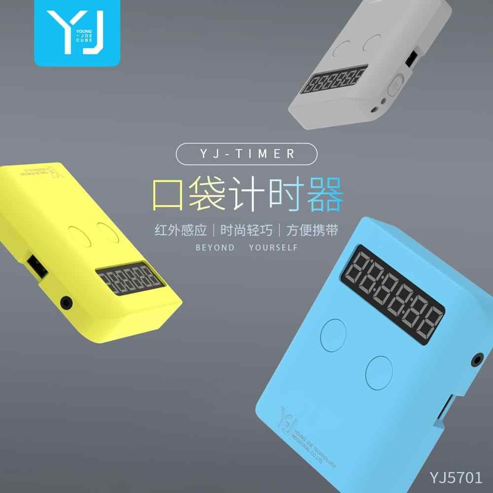 Карманный таймер-головоломка YJ, волшебный таймер скорости, портативный инновационный инфракрасный датчик, волшебные летающие чашки, детские игрушки yongjun