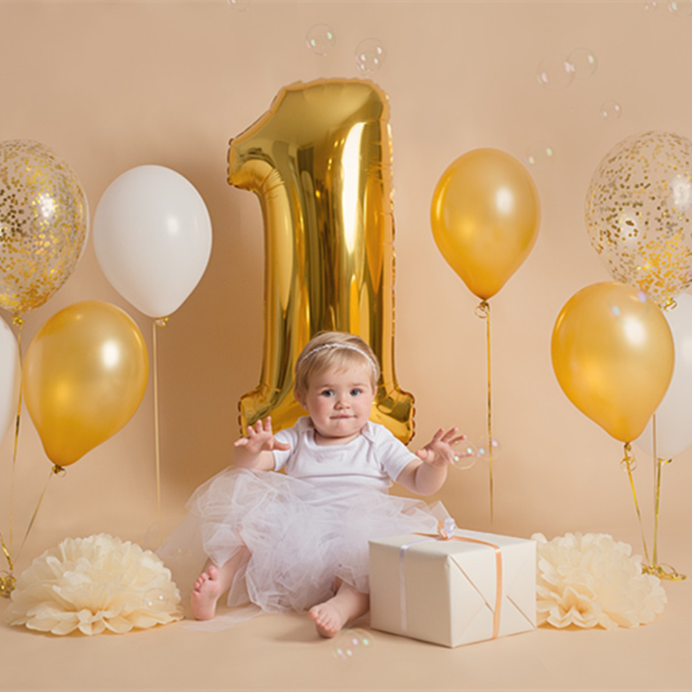 30inch 40inch Number 1 Baby Shower Rose Gold Silver Pink Black Digit Helium  Balloon 1st Birthday Party Decor Supplies Themed Party Themed Party  Decorations From Yarns, $23.3| DHgate.Com