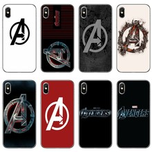 Luxury marvel Avengers logo Accessories phone case For Xiaomi Redmi S2 6 6A 5 plus 5A 4X 4A 3 Note 6 5A 5 pro 4 3 2(China)