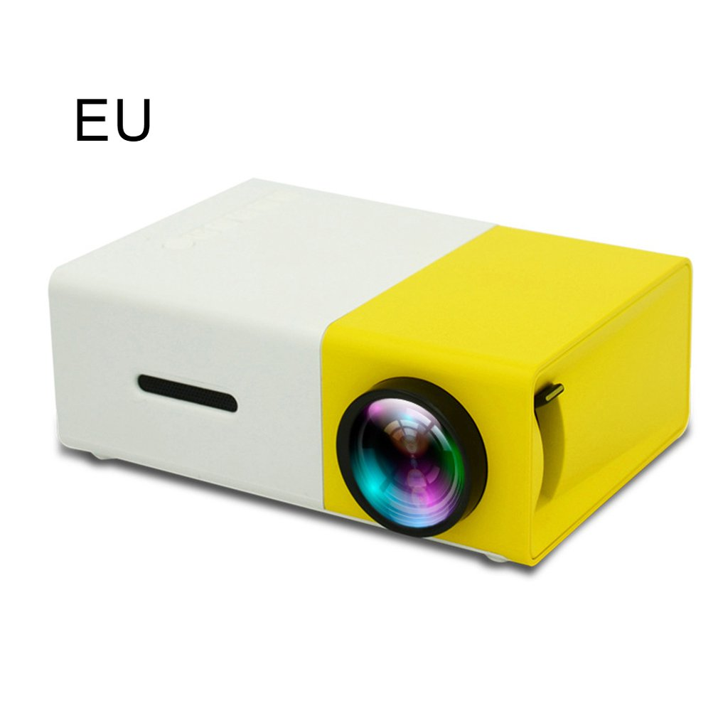 YG300 <font><b>LED</b></font> Projector 320x240 Pixels Supports 1080P <font><b>YG</b></font>-<font><b>300</b></font> HDMI USB Audio Portable Projector Home Media Video Player Chargeable image