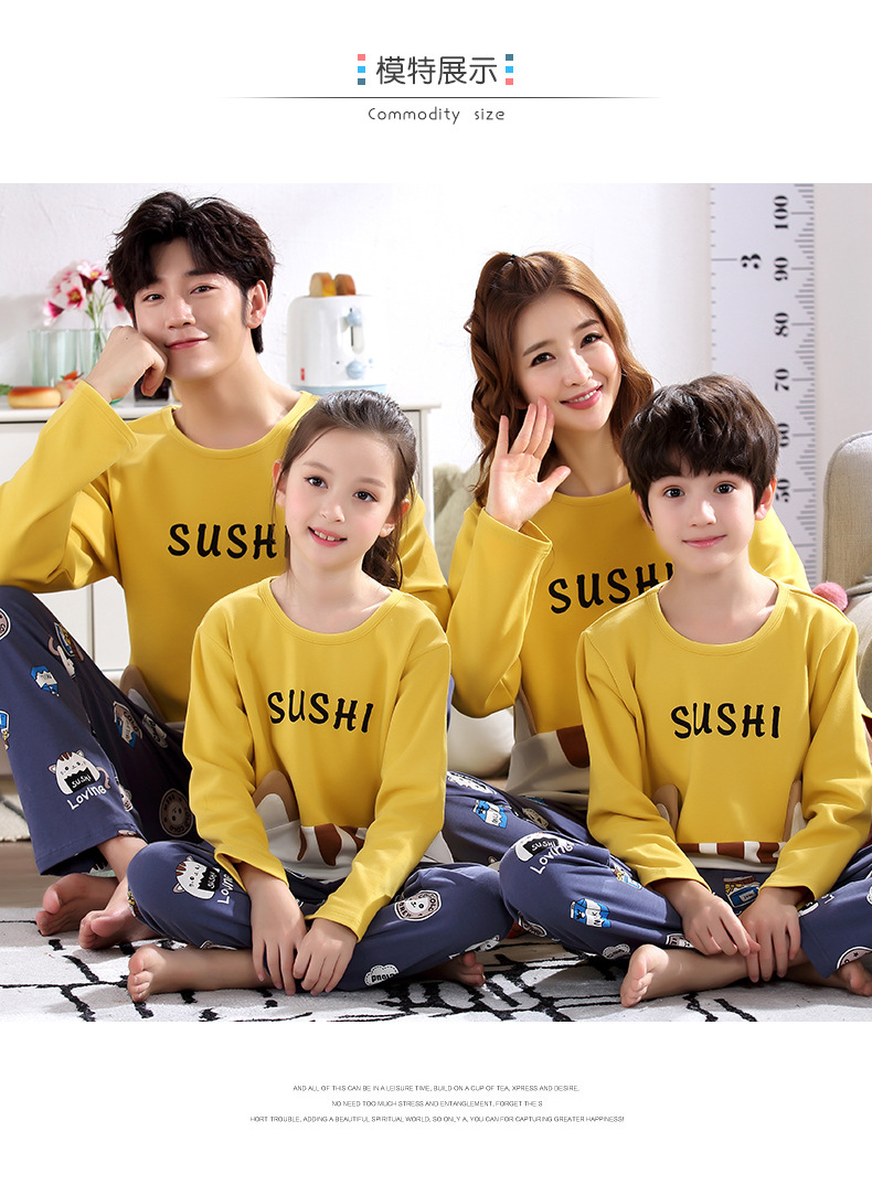 H23c578f91ff74f60af98e1a9b500c9a6v - Parent Child Kids Outfits Family Matching dad Mommy and Me Baby Pajamas Sets Sweaters Mother and Daughter Clothes Madre E Hija