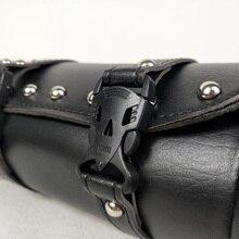 Для Harley мотоциклетная сумка замена кожа черный аксессуары для багажа