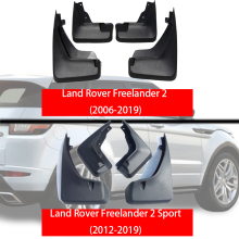 цены For Land Rover freelander 2 2006-2019 Mud Flaps Car Fenders For freelander 2 sport Splash Guards Mudguards Rear Front Mud-Flaps