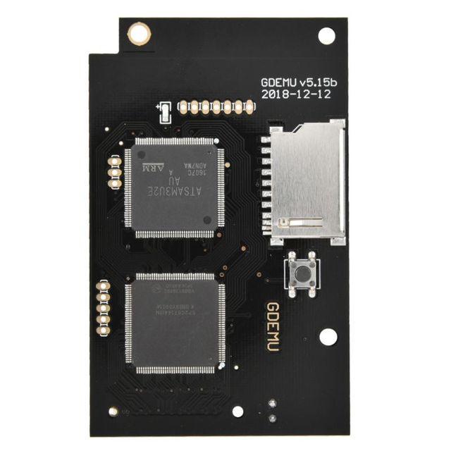 光学ドライブシミュレーションアップグレードボード dc ゲーム機内蔵ディスクの交換フル新 Gdemu ゲーム 5.15B