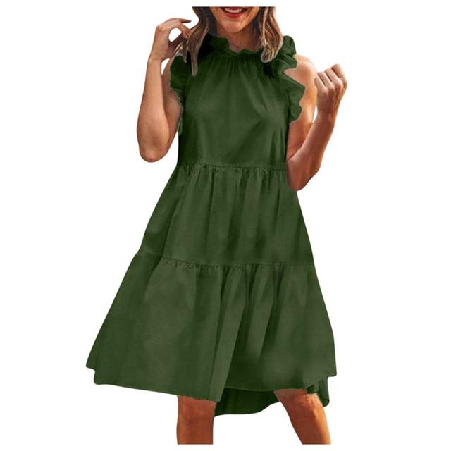 Sleeveless Women Maternity Dress for Wedding 3