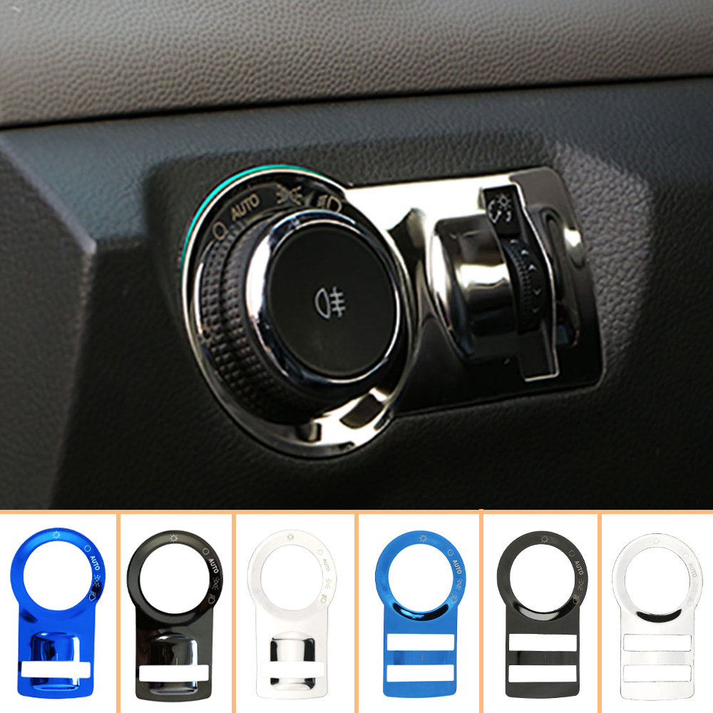 Car Interior head light switch button cover trim For 2017 2018 Chevrolet Cruze