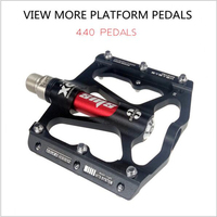 Bicycle Pedal Aluminum Alloy Mountain Bike Pedal MTB Road Cycling Sealed 3 Bearings Pedals for BMX Ultra Light Bicycle Parts|Bicycle Pedal|   -