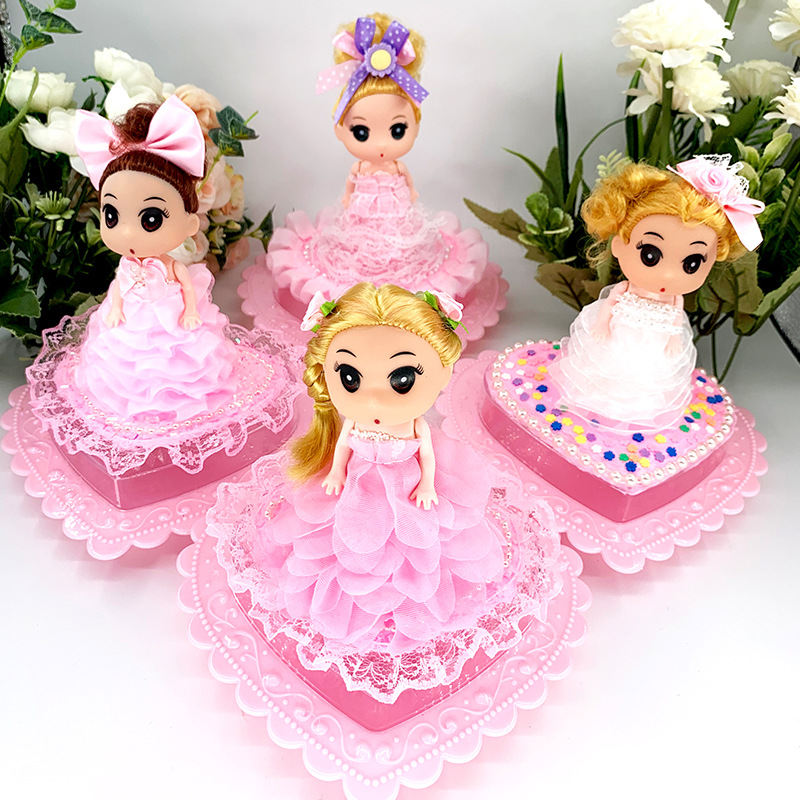 Children Hand-created Play Dough Diy Beautiful Princess Jewelry Box Clay Storage Box Parent Puzzles For Kids Gifts For Children