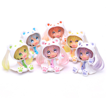 Perfect gift Cute model doll Figure Toys Game Prize Noodle Stopper Vocaloid PVC Action Toy Collection Model Doll