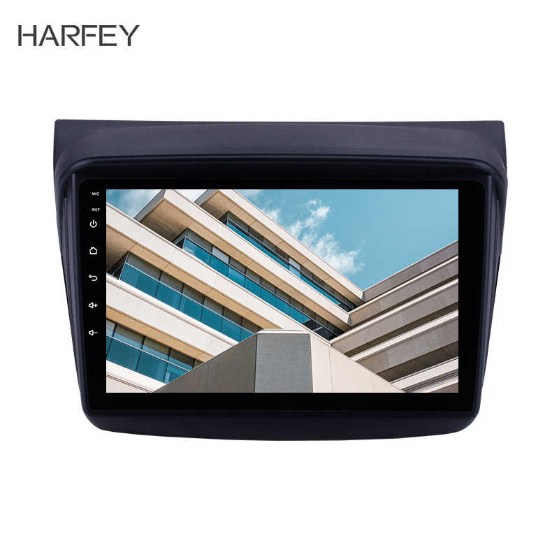 "Harfey Car Multimedia Player 2 din 9"" Android 8.1 Car GPS Radio for MITSUBISHI PAJERO Sport/L200/2006+ Triton/2008+ PAJERO 2010"