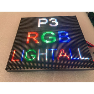 Image 3 - Hot sale P3 led module 64*64 pixels smd2121 indoor 192*192mm 32scan full color led matrix P4 P5 P6 P10 led sign board panel