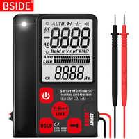"""Multimètre numérique Ultra-Portable BSIDE ADMS7 S9CL grand 3.5 """"LCD 3 lignes voltmètre DMM tension cc ca NCV Ohm Hz testeur"""
