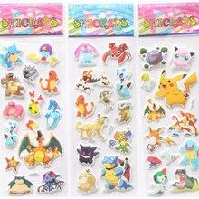 3D Cute Pokemoner Go Stickers Wall Decor For Laptop Despicable Sticker Decal Fridge Skateboard