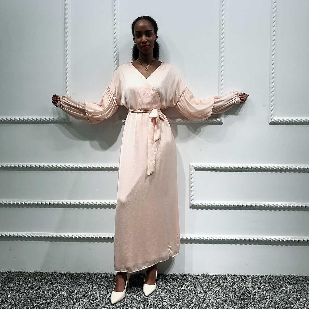 일반 Abaya Kaftan 두바이 Hijab 이슬람 드레스 터키어 사우디 아라비아 여성을위한 아프리카 드레스 Caftan 이슬람 의류 카타르 터키