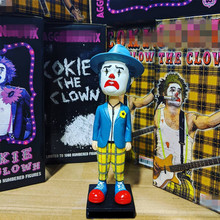 цена на Bobble Head Funny Clown PVC Action Figure Collectible Model Shake Head Hot Toy for Child Birthday GIFT