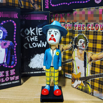 Bobble Head Funny Clown PVC Action Figure Collectible Model Shake Head Hot Toy for Child Birthday GIFT hot sale new dark souls faraam knight artorias pvc figure collectible model toy 2 styles
