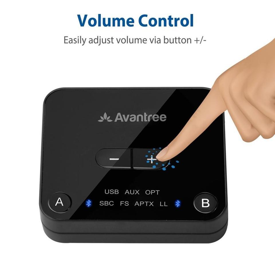 Tv Plus Kast.Avantree Audikast Plus Bluetooth 5 0 Transmitter For Tv Pc With