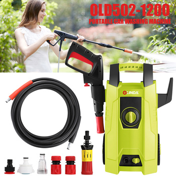 2020 Car Washer Garden Auto Portable AC220V Washing Machine 1400W High Pressure Doors and Windows Cleaning Car Washer Cleaning