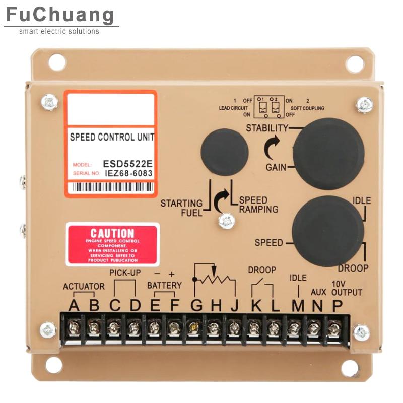 Регулятор скорости ESD5522E регулятор скорости Электронный Генератор набор аксессуаров промышленные детали